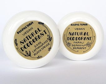 NATURAL DEODORANT - Choose your scent - Sensitive skin - Vegan