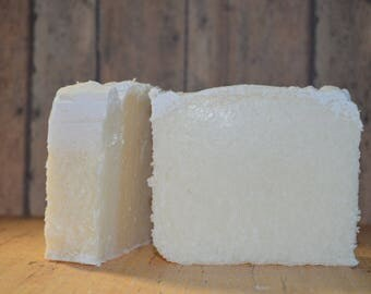 Pinapple and Sage Sea Salt Soap with Almond Milk