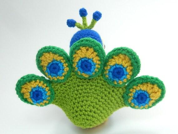 Paksha The Peacock Amigurumi Crochet Pattern From