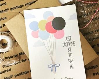 Pregnancy Announcement Scratch Off Card- Balloons, Surprise Pregnancy Announcement Scratch Off Pregnancy Announcement Card