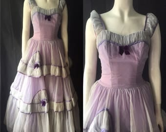 1940s evening gown prom dress