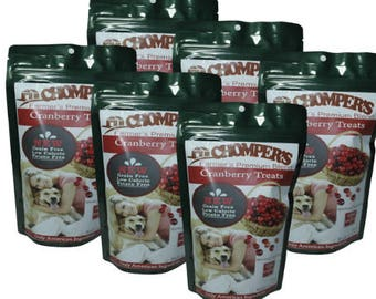 6 Pack Free Shipping Cranberry Chickpea treats