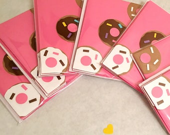 Any occasion cards - Donut Love 3-pack