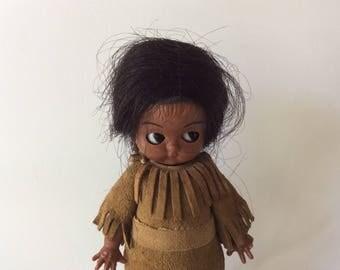 Vintage Native American Souvenir Doll/Collector Doll