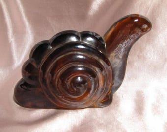 Irridescent Glass Snail