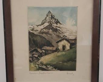 Vintage Watercolor
