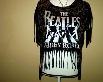 The Beatles Fringe Grunge Shirt