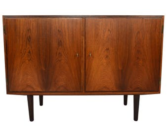 Danish Modern Mid Century Rosewood Credenza by Hundevad