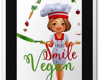 Lady plazza par 5ladyplazza sur etsy for Cuisinier vegan