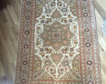 Genuine Persian Rug from Iran with COA Mori Tabriz