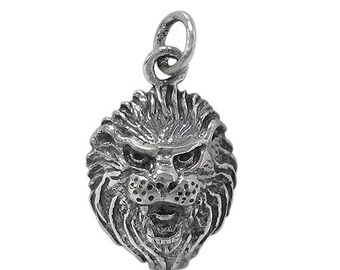 Add Solid Sterling Silver Lion charm. hollow Lion. Elephant lightweight hollow Elephant . Elephant charm. Silver elephant.