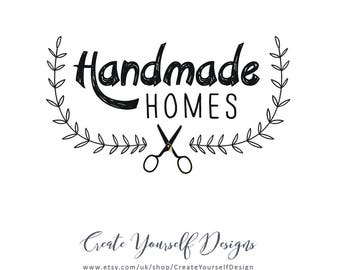 Logo Design, Personalised logo, Custom Logo, Branding, handmade logo, business logo, craft logo, knitting logo, Pre made logo