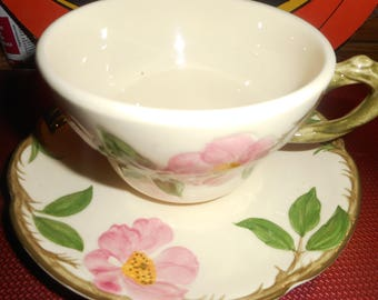 Vinage Franciscan cup and saucer, this is the larger cup could also be used for desserts, great condition,