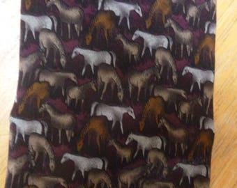 Mongolian Horse silk necktie The Nature Conservancy