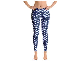 Poodle Print Leggings for Women - Available in 3 Colors!
