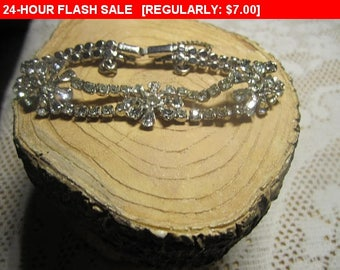 vintage rhinestone bracelet for repair