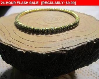 black rhinestone bracelet, fashion bracelet, vintage bracelet