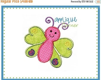 40% OFF 012 Butterfly applique digital design for embroidery machine by Applique Corner