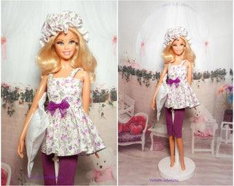 Nightgown for barbie doll, Barbie fashionistas, barbie silkstone