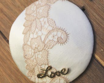 SALE- Love fascinator