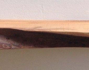 Tiny Live edge shelf no. 187