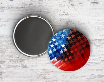 """Stars and Stripes 2.25"""" Magnet"""
