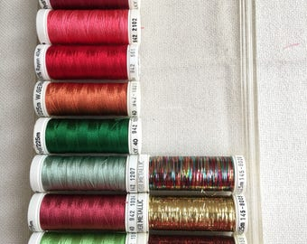 Sulky rayon embroidery threads assorted colors