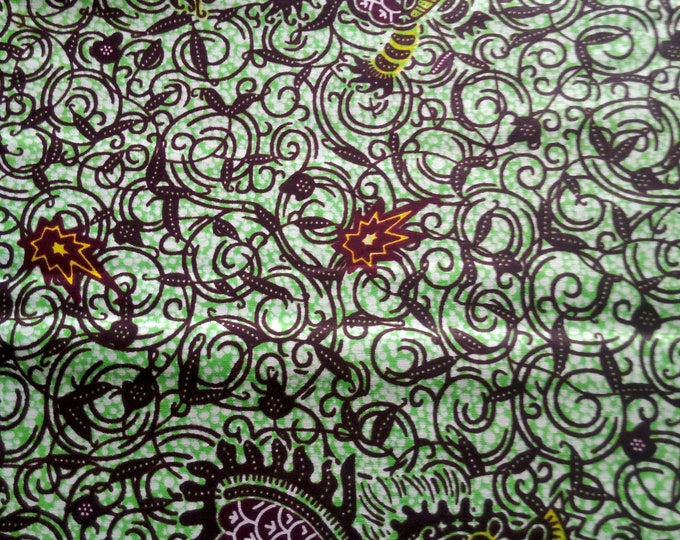 1 YARD African Print  Fabrics For Craft Making Dresses Shirts Ties /Sewing Fabric /Kitenge Pagnes Chitenge/ Cotton Fabrics