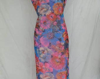 Vintage 1960s Chinese Cheongsam Dress