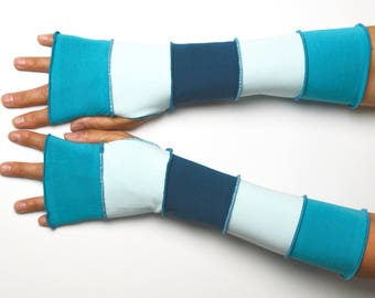 Mittens with thumbhole created by you 5 colors jersey cotton