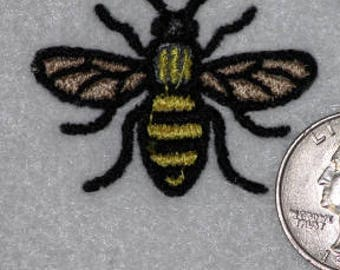 Mini Bee Machine Embroidery Design