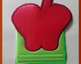 Apple Note Pad Holders Machine Embroidery Designs