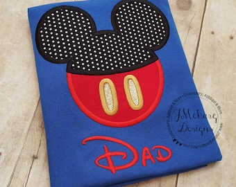 Boy Mouse Custom embroidered Disney Inspired Vacation Shirts for the Family! 712c