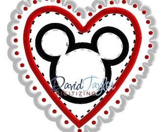 Valentines Mouse Shirt - Raining Love - Valentines Custom Vacation Shirt