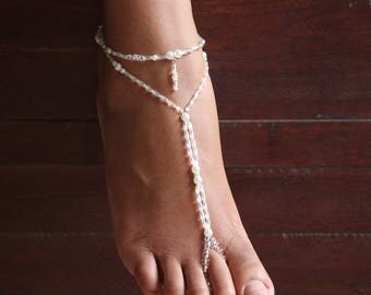 SALE Barefoot sandals Foot jewelry Anklet Barefoot Sandles