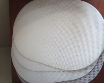 Oval Plastic Canvas-Pkg of 6