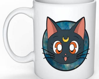 Cosmic Luna - Ceramic Mug - Sailor Moon