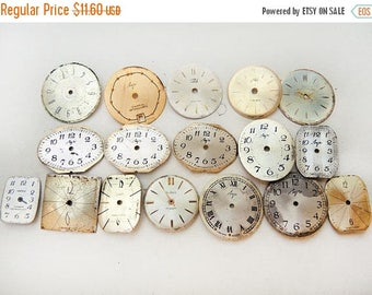 ON SALE Small Watch Faces - set of 17 - c130
