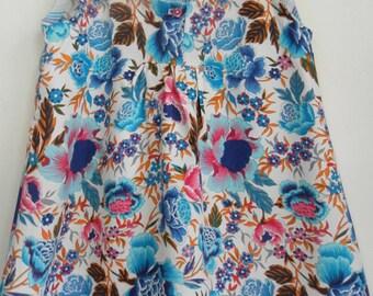 Multicolor floral 12/18 months, cotton dress