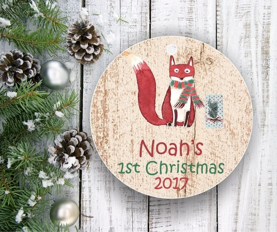 Ornaments Personalized First Christmas Ornament Baby