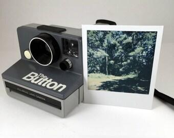 "Polaroid SX-70 ""The Button,"" film tested, working"