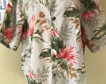 Vintage Aloha Shirt, Size XXL