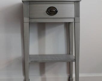 SOLD *** Grey Nightstand/Side Table/Accent Table*** See Below for availability
