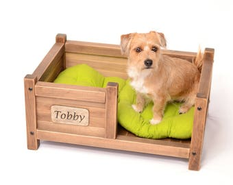 Pet bed, Wooden dog bed, Cat bed, Bed with a dog name, Dog bed, Dog hut, Pet cot, Dog cot, Hut for kitten, Dog house, Cottage for kitten