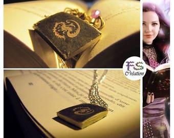 Descendants necklace, book of evil.