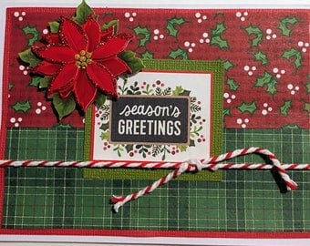 12 Handmade Christmas Cards