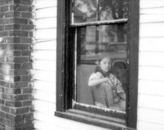NoDa - Original Black & White Photography Print,  8 1/2 X 11