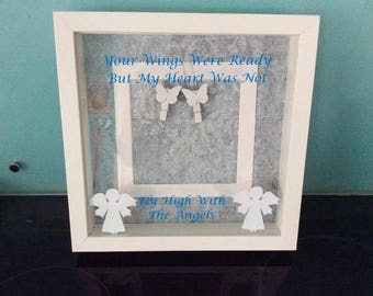 Rememberance Photo frame, Just add a Photo