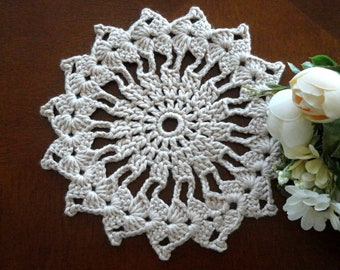 Crochet Placemat Crochet Doilie Placemat Crochet Doily Round Placemat Home Decor Tablecloth Crochet Tablecloth Women Gift