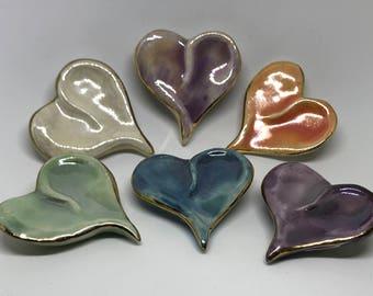 Listener's Heart Pins